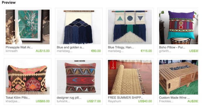 Selling on Etsy? Use etsy mini on your own website