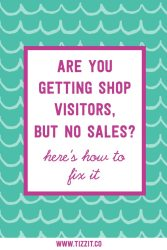 Getting shop visitors, but no sales? Here's how to fix it
