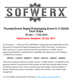 Thunderdrone by Sofwerx
