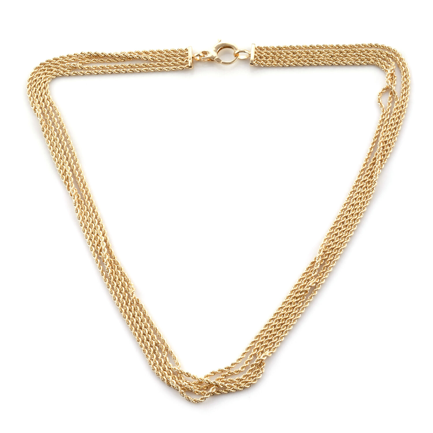 Limited Edition Royal Bali Collection 9K Yellow Gold Rope