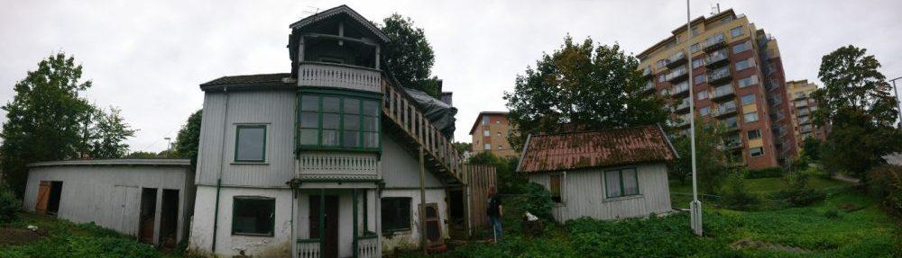 Bilde fra Baglerstredet i Gamlebyen i Oslo.