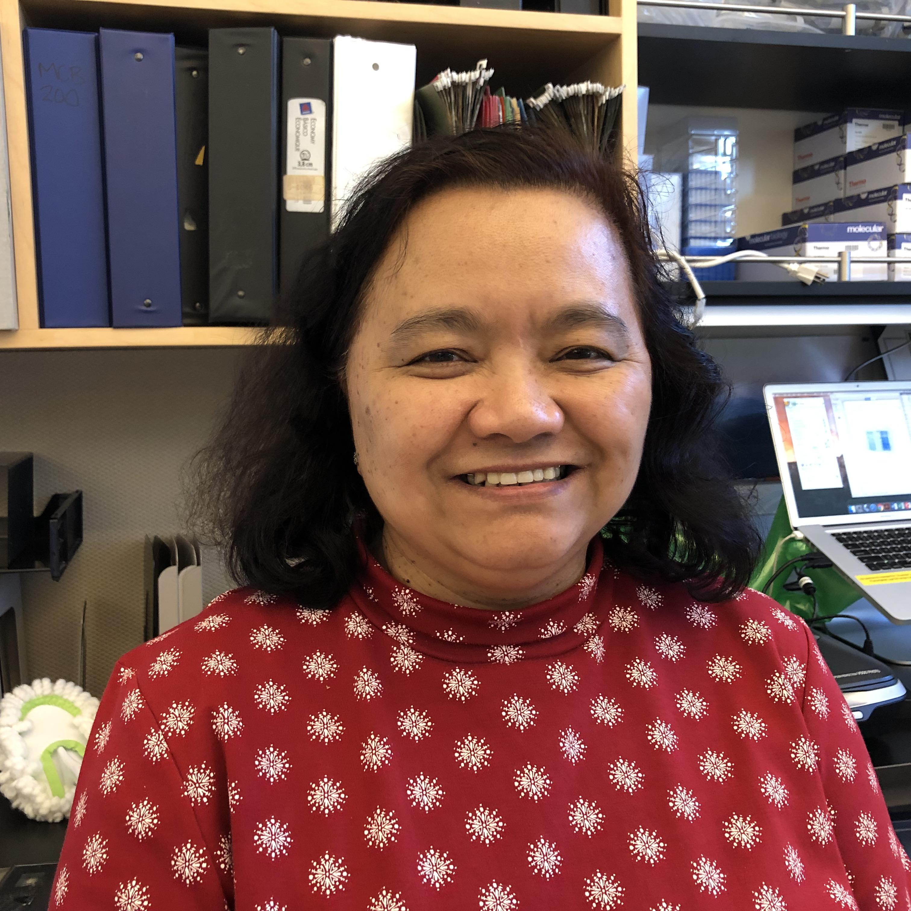 Eva Borbon  Laboratory AssistantTissue Culture Assistant Manager
