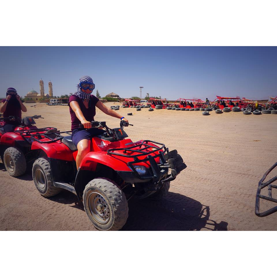 quad in egypte