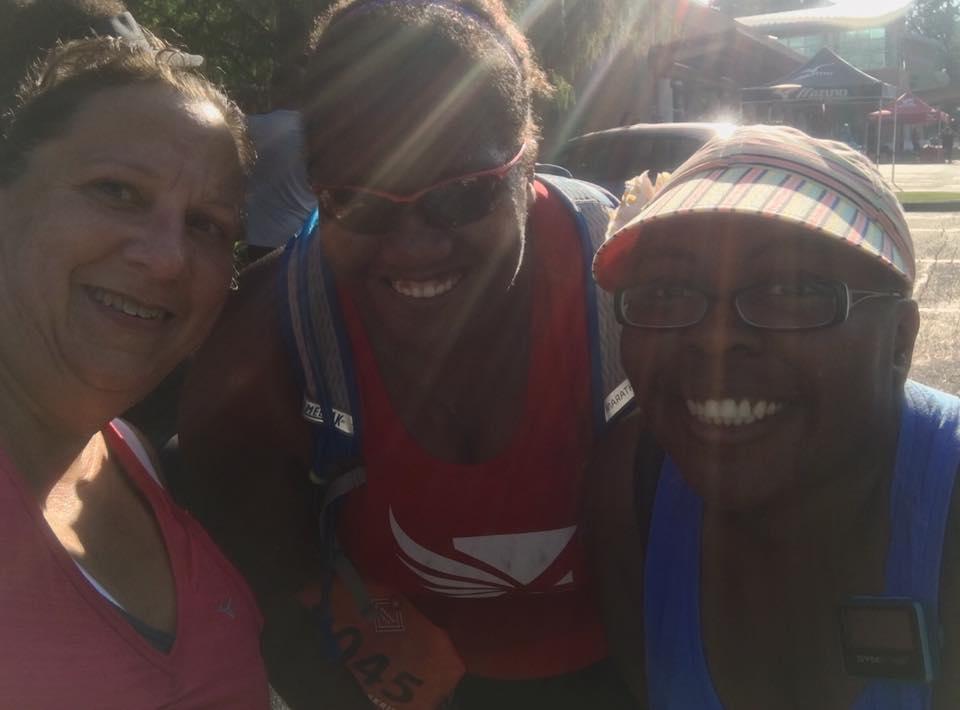 Naomi, Jenny and me Tailgate 5K 2016