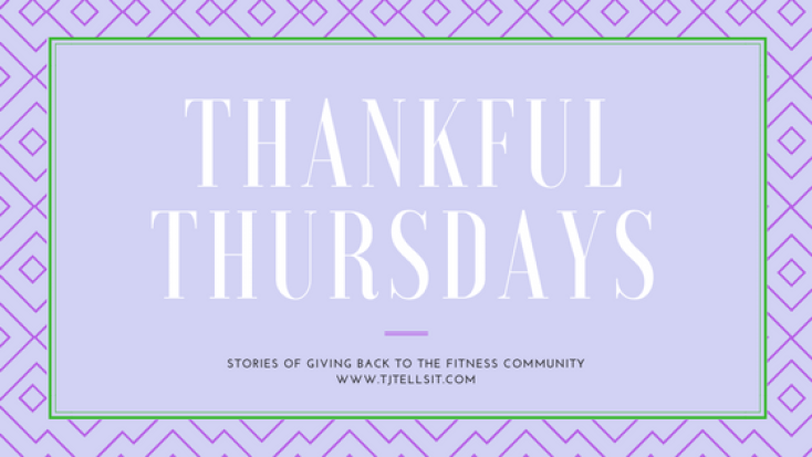 Thankful Thursday-Stories of giving back to the community