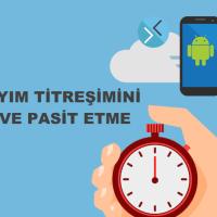 Android Cihazlarda Geri Sayım Sayacında Titreşim Açma ve Kapama – Nasıl Yapılır ?