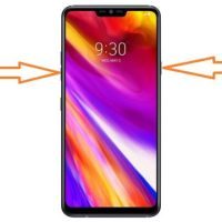 LG G7 ThinQ Ekran Görüntüsü Alma