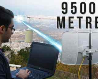 Uzak Mesafeden Wi-Fi Bağlantısı Kurmak | 9.5 Kilometre
