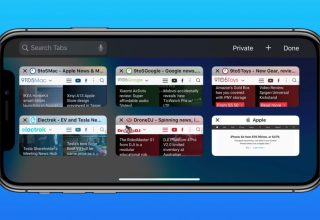 Safari'de Tüm Açık Sekmeleri Yer İmlerine Eklemek (iPhone, iPad)