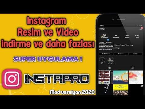 InstaPRO ile instagram süper özellikler sizlere sunuluyor - Premium instagram Kullanın | ANDROİD 8