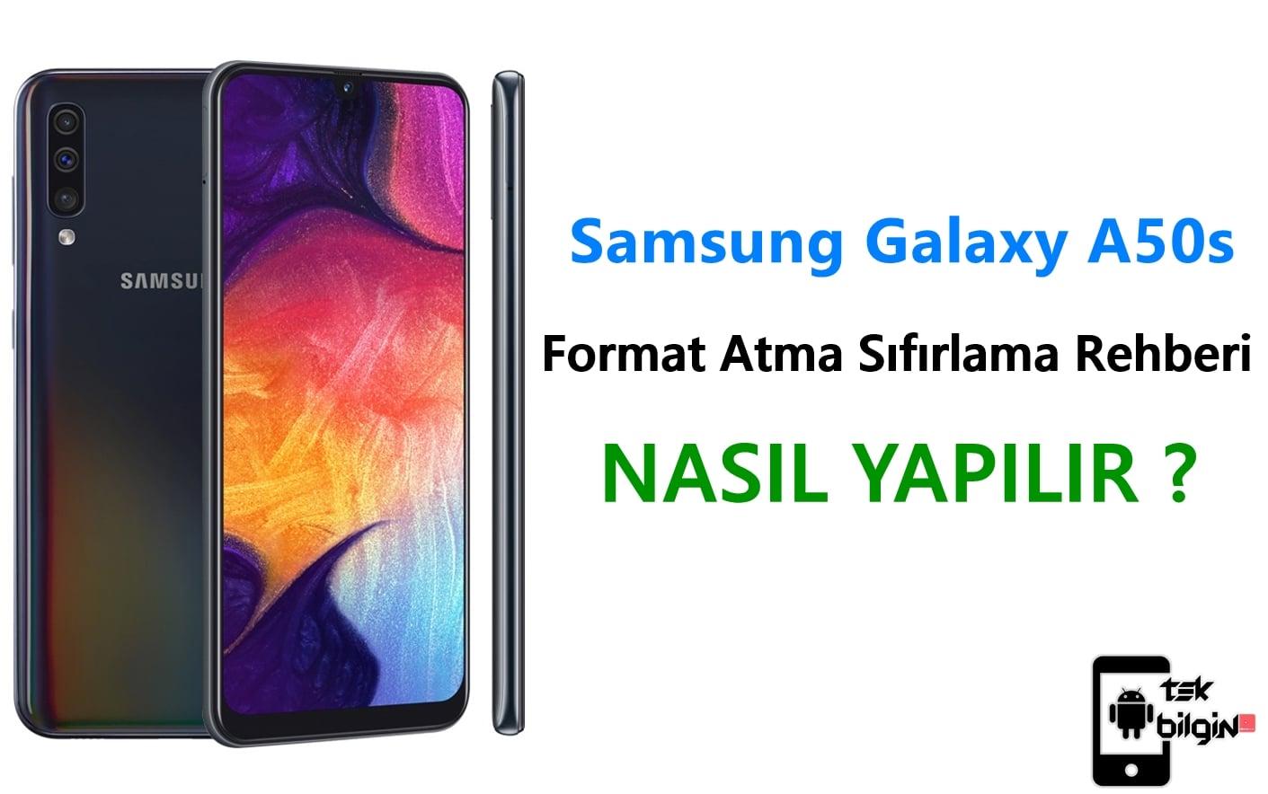 Samsung Galaxy A50s Format Atma Sıfırlama Yöntemi 23