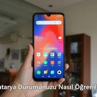 Xiaomi ve Redmi Cihazlarda Batarya Durumunuzu Nasıl Öğrenilir?