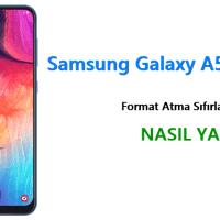Samsung Galaxy A50 Format Atma Sıfırlama Yöntemi
