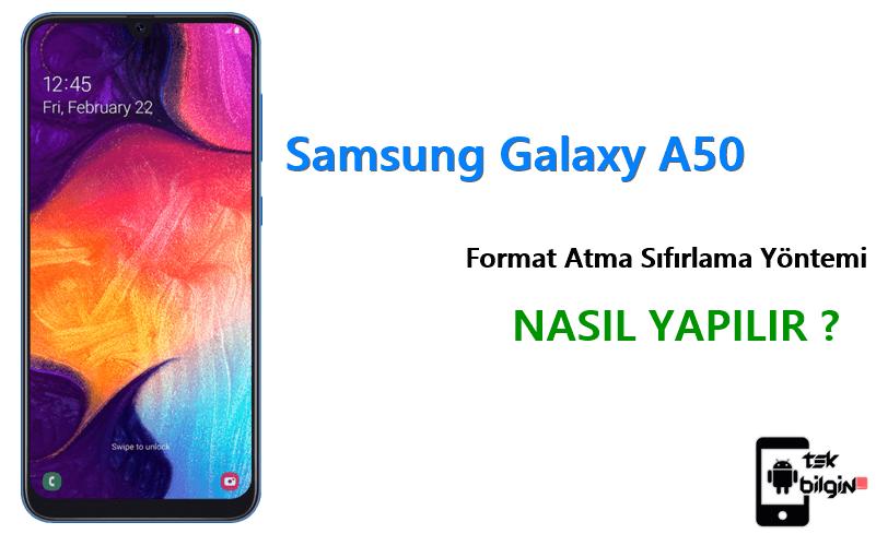 Samsung Galaxy A50 Format Atma Sıfırlama Yöntemi 18