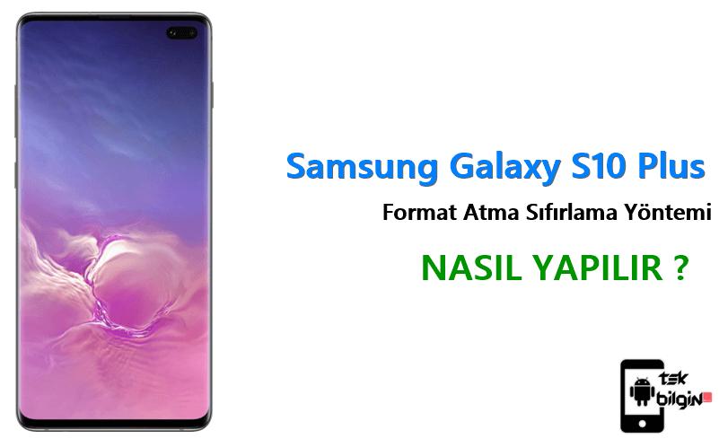 Samsung Galaxy S10 Plus Format Atma Sıfırlama Yöntemi 18