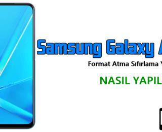 Samsung Galaxy A11 Format Atma Sıfırlama Yöntemi