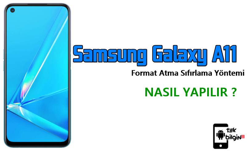 Samsung Galaxy A11 Format Atma Sıfırlama Yöntemi 25