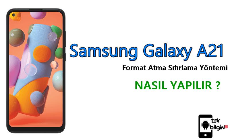 Samsung Galaxy A21 Format Atma Sıfırlama Yöntemi 28