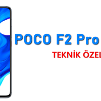 POCO F2 Pro – Teknik Özellikleri