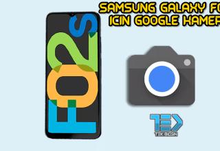 Samsung Galaxy F02s için Google Kamera indir (GCam 8.1 APK)