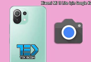 Xiaomi Mi 11 Lite için Google Kamera indir (GCam 8.1 APK)