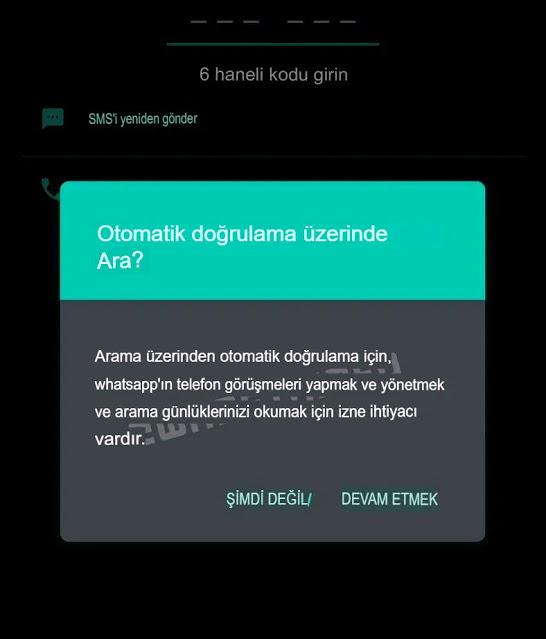 WhatsApp'ta Yeni Bir Özellik Göründü: Telefon Numaraları Otomatik Doğrulanacak 8