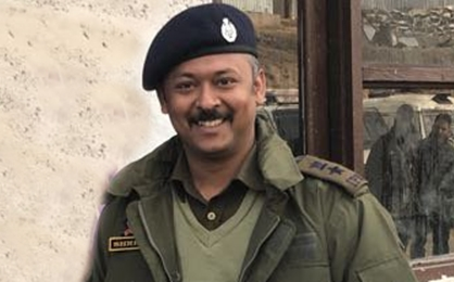 Cop escapes bid on life in south Kashmir
