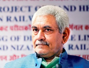 Communication Minister Manoj Sinha