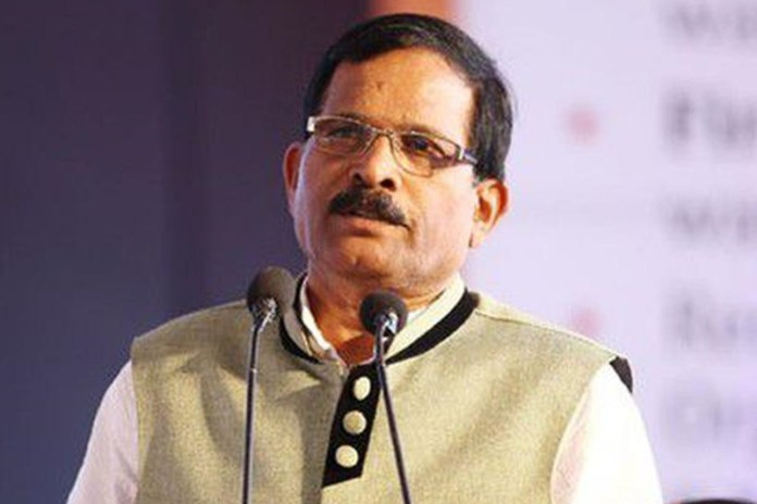 Minister of State for Defence Sripad Yesso Naik
