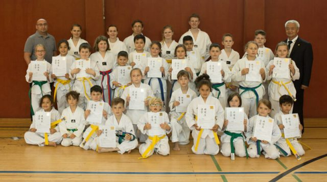 Kup Prüfung 19.06.2016 Taekwondo Team Kocer e.V.
