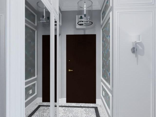 101.effectsResult - Warszawa | Projekt mieszkania w kamienicy