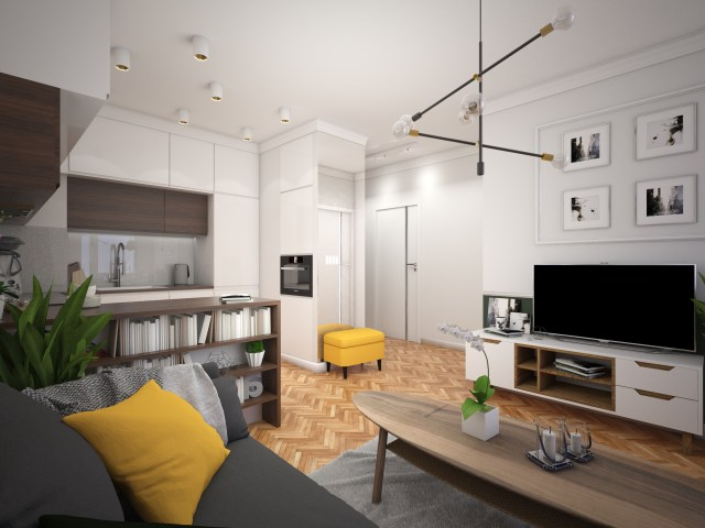 2 1 1440x1080 - Warszawa | projekt mieszkania na wynajem