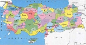 turkiye haritasi