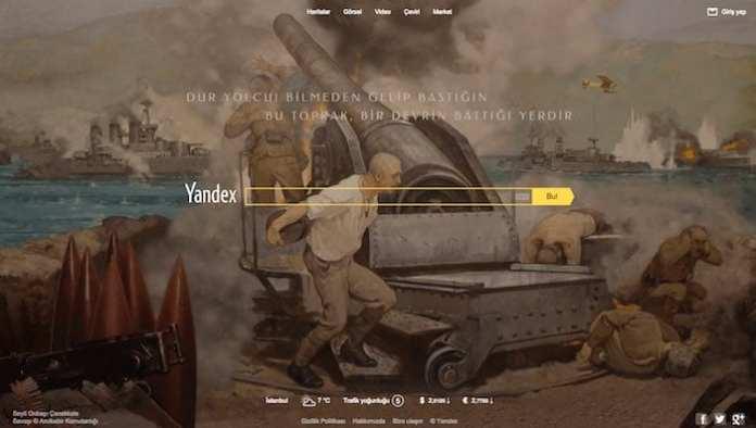 yandex canakkale