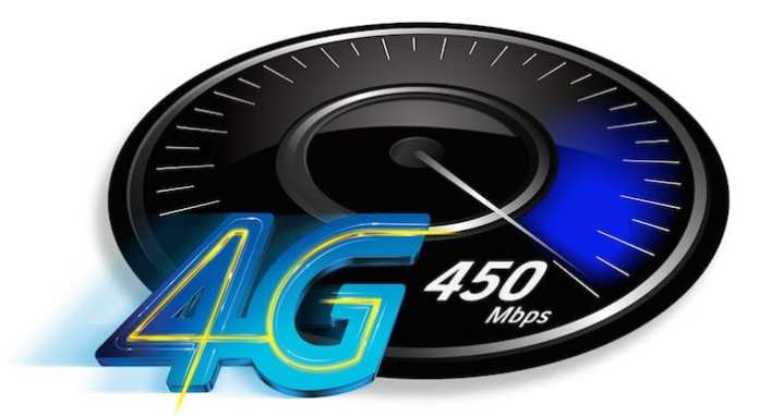4G 450mbps