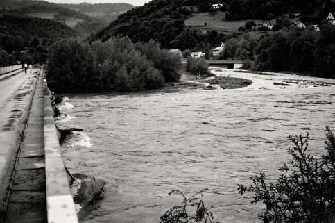 Flood / Dunajec river / Poland