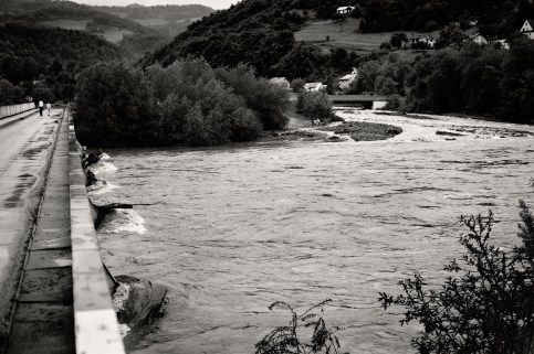 Flood / Dunajec river / Poland