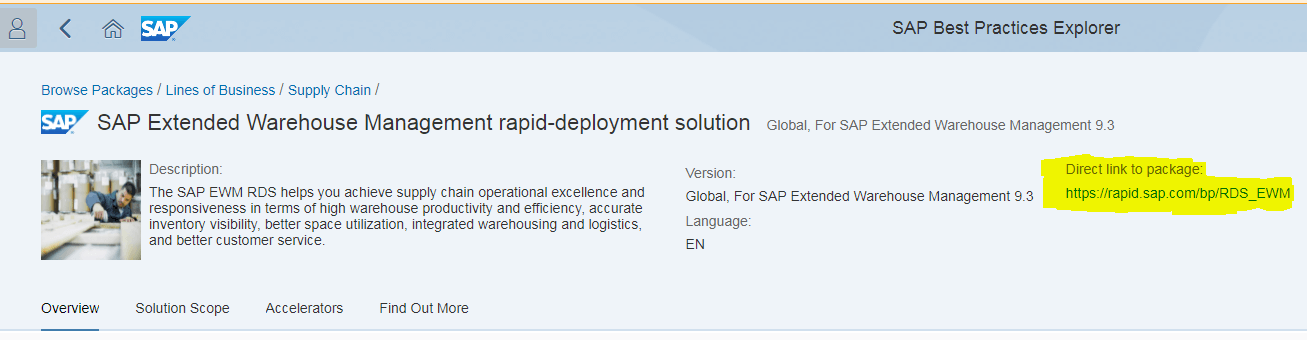 SAP EWM configuration guide
