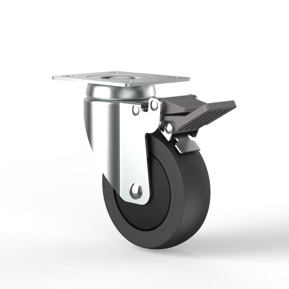 100mm 高科技產業及實驗室腳輪 - TKS Caster