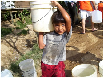 Providing clean water though filtration