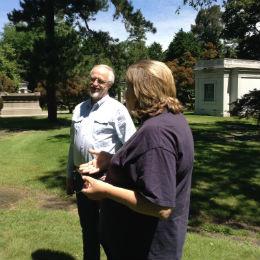 Bob Scott and Susan Olsen