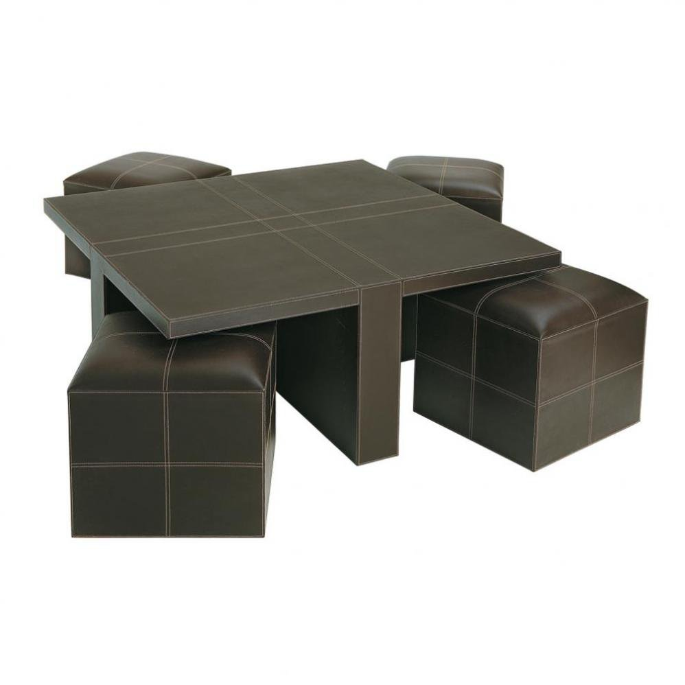 5 best coffee table with stools a