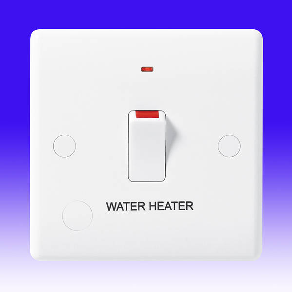 20 Amp Dp Switch Water Heater C W Neon Amp Flex Outlet