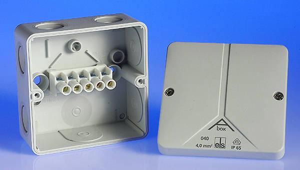 32 Amp Weatherproof Junction Box