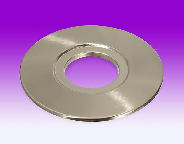 Ledlite Hole Conversion Plate Brushed Chrome