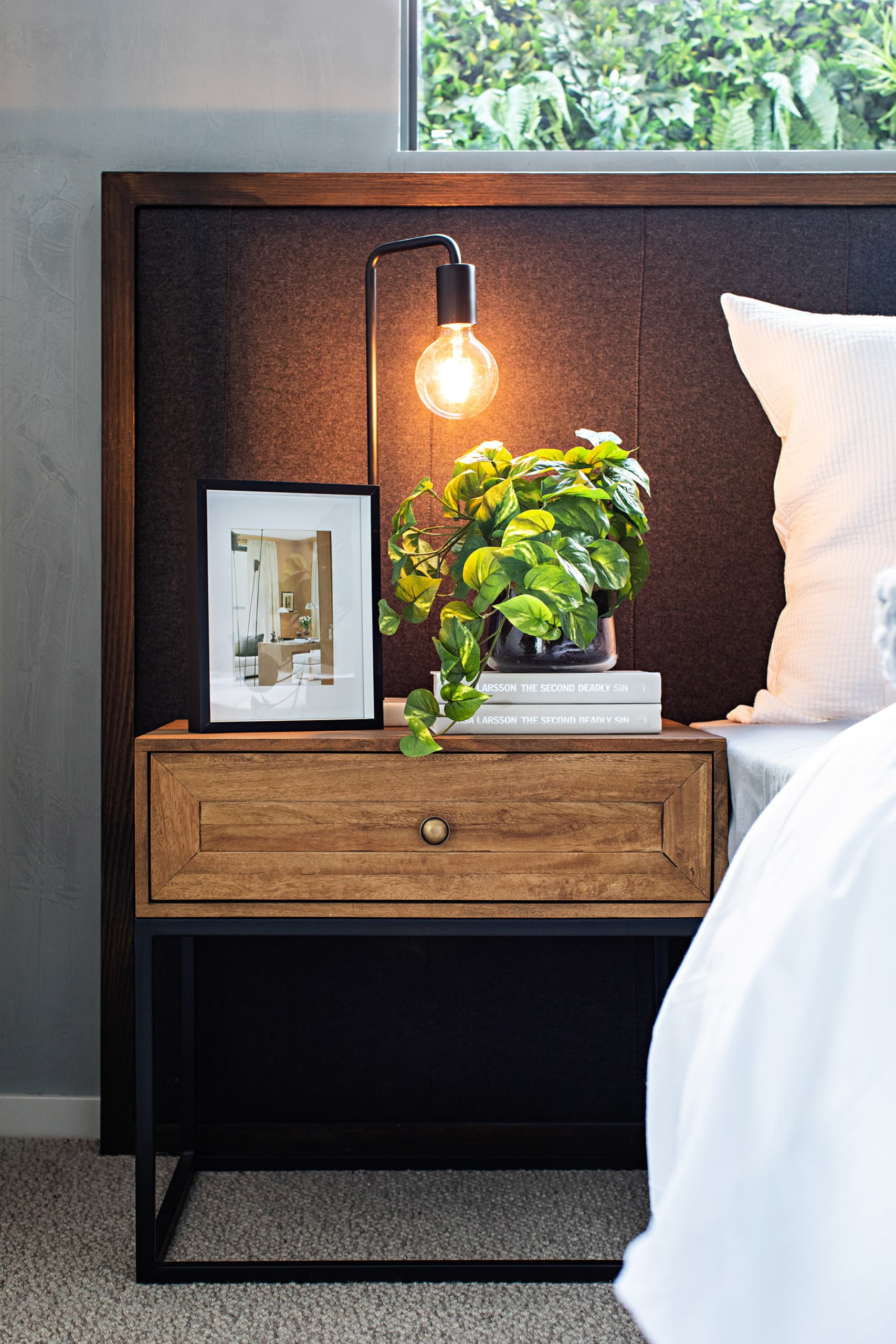 How To Style Bedside Tables 7 Professional Tips Tlc Interiors