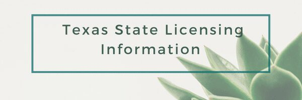 texas department of licensing and regulations website link to the massage therapy exam information