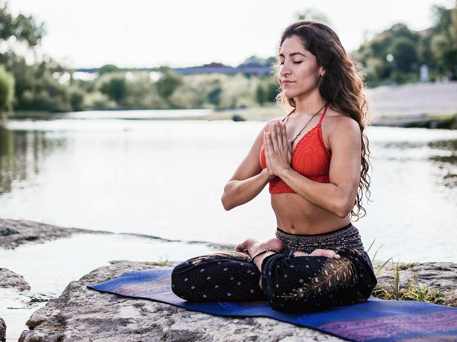 free yoga with Jen Ramos at the Lauterstein-Conway Massage School