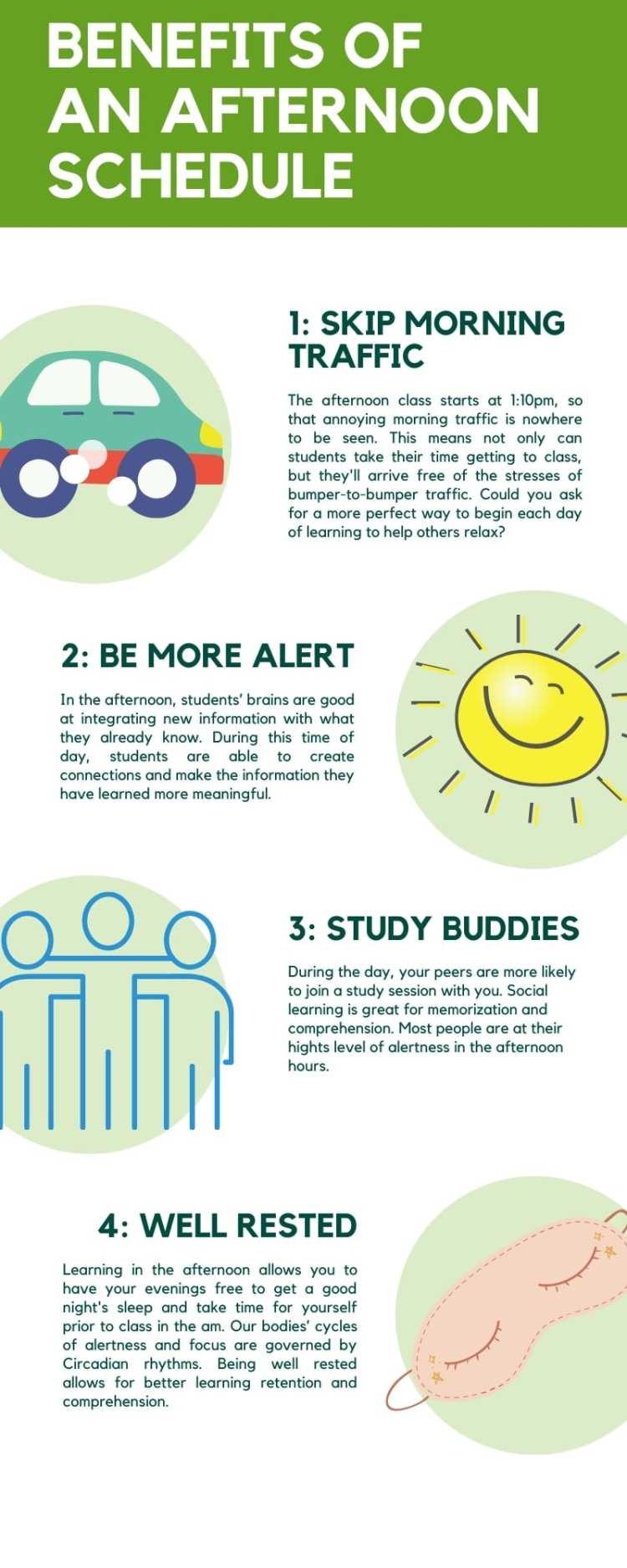 Massage Therapy School Schedule