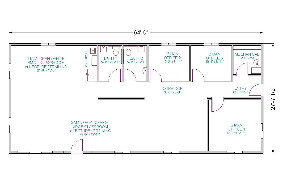 Office Training Center Tlc Modular Homes